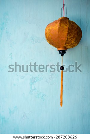Lantern in the ancient town of Hoi An, Vietnam - stock photo