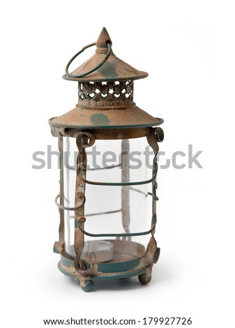 Lantern / Ramadan Lamp concept - stock photo