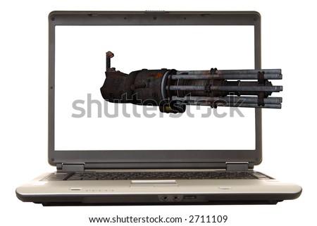 Gatling Gun Stock Photos Images Amp Pictures Shutterstock
