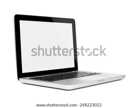 Laptop - side view