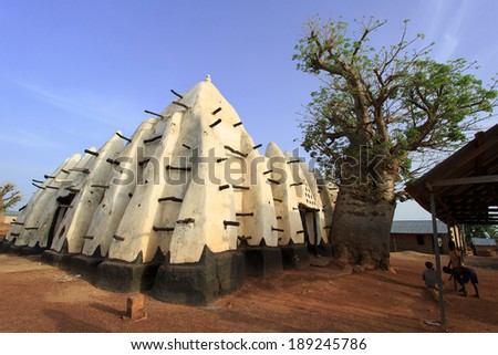 Larabanga mosque, one of oldest muslim places in Ghana