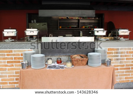 Large Barbecue Outdoor