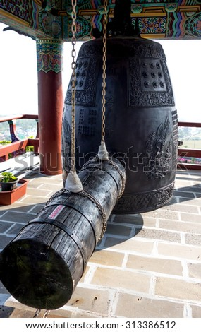 Large bell at China temple