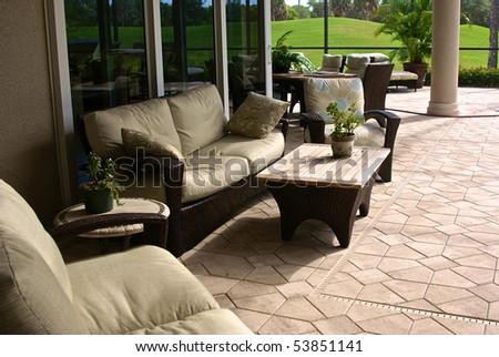 Outdoor Living Stock Photos, Royalty-Free Images & Vectors
