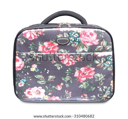 Large handbag on a white background - stock photo