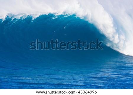 Large Ocean Wave - stock photo