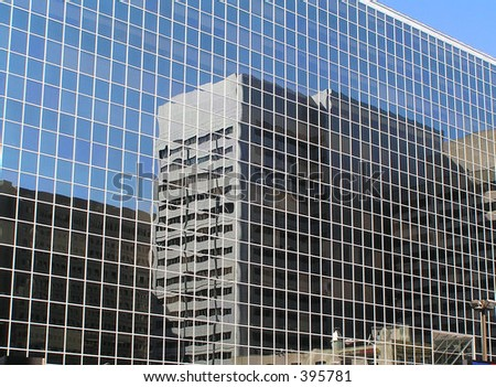 Large office building - stock photo