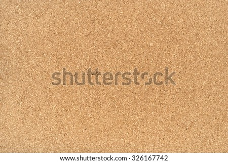 Large piece of corkboard suitable for use as background texture - stock photo