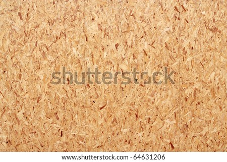 Large recycled wood boards close up. - stock photo