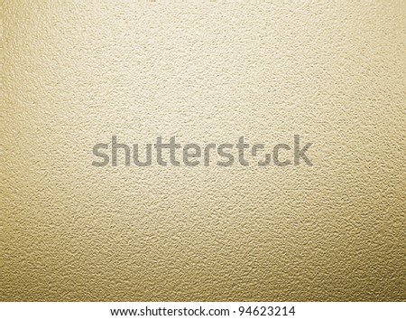 large sheet of gold sheet foil metal texture - stock photo