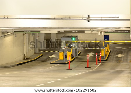 Large underground parking garage old town stock photo 102291688 large underground parking garage in the old town area of portland oregon sciox Image collections