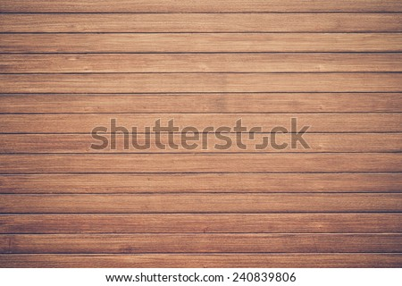 large wood plank wall for decoration  - stock photo