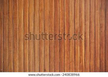 large wood plank wall for decoration and background