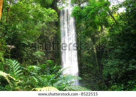 Largest man made waterfall