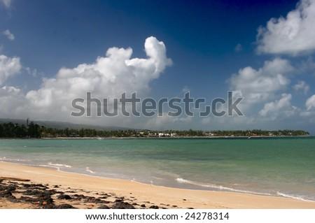 Las Terrenas, Samana peninsula, Dominican Republic - stock photo