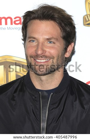 LAS VEGAS - APR 12: Bradley Cooper at the Warner Bros. Pictures Presentation during CinemaCon at Caesars Palace on April 12, 2016 in Las Vegas, Nevada