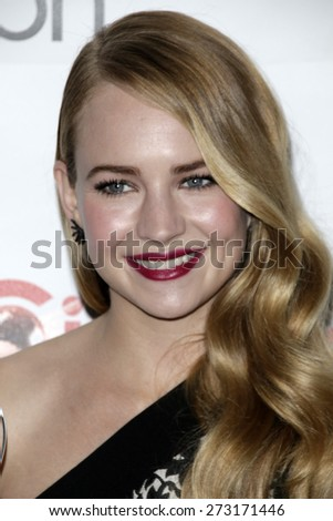 LAS VEGAS - APR 23:  Britt Robertson at the CinemaCon Big Screen Achievement Awards at the Caesars Palace on April 23, 2015 in Las Vegas, NV
