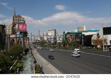 Las Vegas Boulevard - stock photo