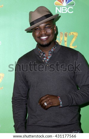 LAS VEGAS - JUN 1:  Ne-Yo, Shaffer Chimere Smith at the Television Academy Event For NBC's The Wiz Live! at the Directors Guild of America on June 1, 2016 in West Hollywood, CA - stock photo