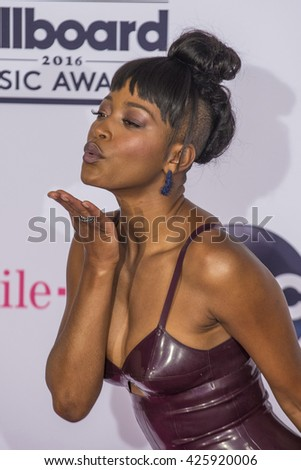 LAS VEGAS - MAY 22 : Actress/recording artist Keke Palmer poses in the press room at the 2016 Billboard Music Awards at T-Mobile Arena on May 22, 2016 in Las Vegas, Nevada.