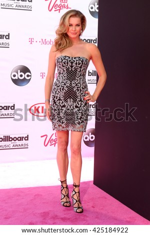 LAS VEGAS - MAY 22:  Rebecca Romijn at the Billboard Music Awards 2016 at the T-Mobile Arena on May 22, 2016 in Las Vegas, NV - stock photo