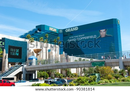 LAS VEGAS, NEVADA, USA - CIRCA APRIL 2011: MGM Grand Hotel