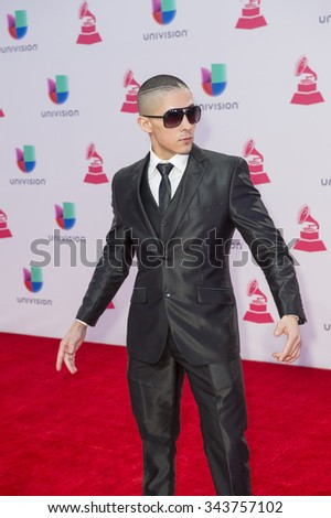 LAS VEGAS , NOV 19 : Actor Jesse Medeles attends the 16th Annual Latin GRAMMY Awards on November 19 2015 at the MGM Grand Arena in Las Vegas, Nevada