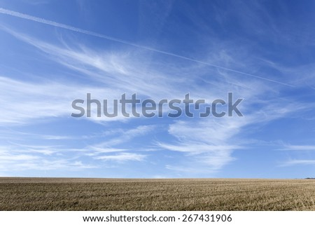 Late Winter Nature in Bohemia - stock photo