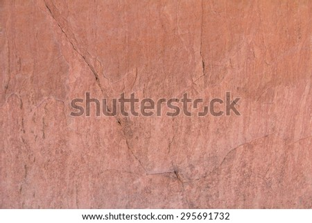 Laterite stone surface for background.