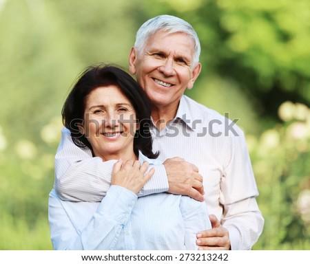 Latin American and Hispanic Ethnicity, Couple, Senior Adult. - stock photo