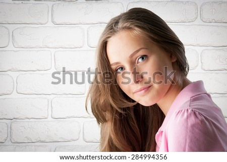 Latin American and Hispanic Ethnicity, Human Face, Teenager. - stock photo