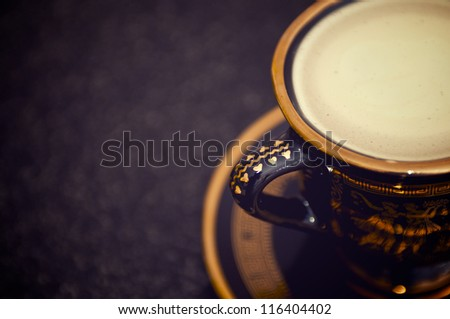 Latte - stock photo