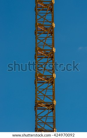 Lattice boom - part of the lattice boom crane