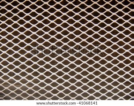 Lattice  radiator  car - stock photo