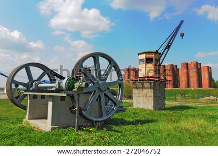 Lauchhammer Bio Towers - stock photo
