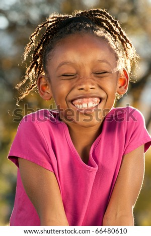 Laughing African Child