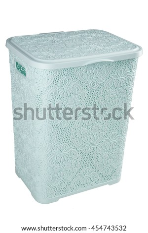 LAUNDRY BASKET / TRASH CAN