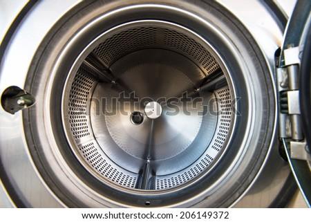 Laundry machine - stock photo
