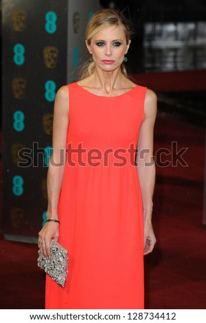 Laura Bailey arriving for the EE BAFTA Film Awards 2013 at the Royal Opera House, Covent Garden, London. 10/02/2013 Picture by: Steve Vas