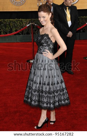 LAURA LEIGHTON at the 13th Annual Screen Actors Guild Awards at the Shrine Auditorium. January 28, 2007 Los Angeles, CA Picture: Paul Smith / Featureflash