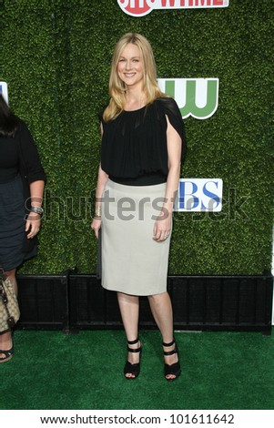 Laura Linney  at the CBS, The CW, Showtime Summer Press Tour Party, Beverly Hilton Hotel, Beverly Hills, CA. 07-28-10