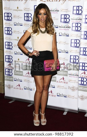 Lauren Pope arriving for the National Luxury and Lifestyle Awards 2012 at Porchester Hall, London. 17/03/2012 Picture by: Steve Vas / Featureflash