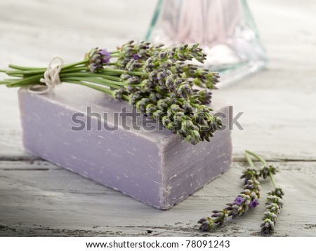 lavender  bath product