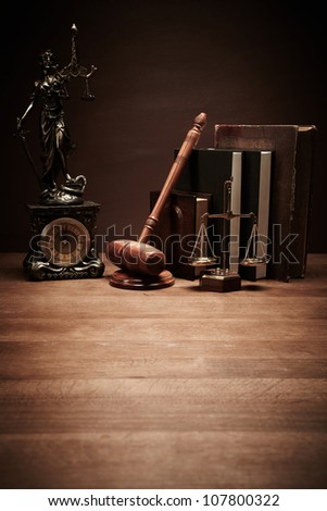 Law - stock photo