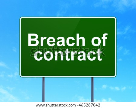 breach of contract term paper Research paper series can be found at   breach of   permit, or has permitted, a party to terminate the contract for breach as the.