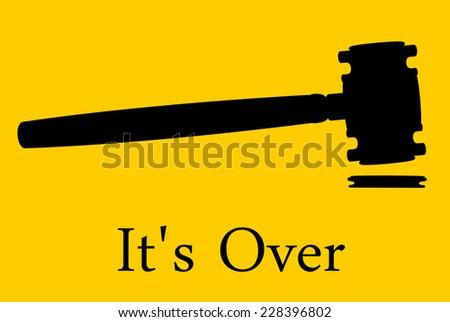 Lawsuit or Litigation or Divorce - stock photo