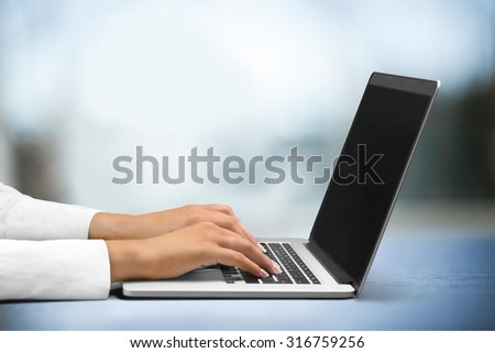 Lawyer support. - stock photo