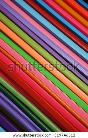 layer of plastic slide lock - stock photo