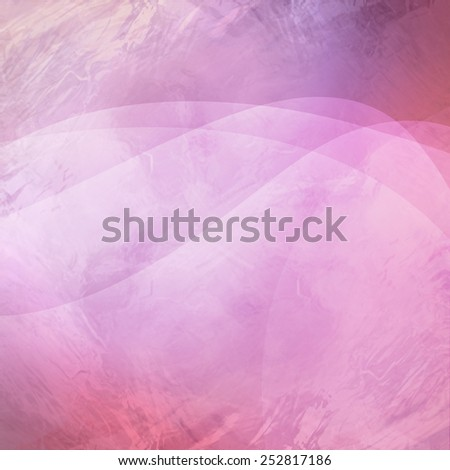 layered abstract background in artistic composition with wavy lines and crinkled glass texture design - stock photo