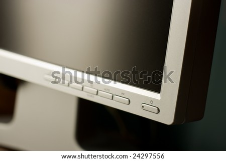 LCD monitor background - stock photo
